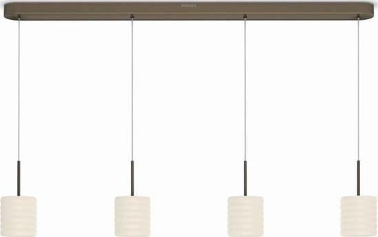 Philips LED ortega lampe decken bronze 4x4,5w selv 37307/06/16