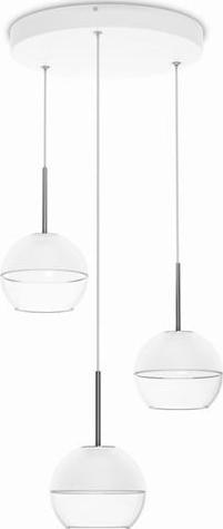 Philips LED arago Pendelleuchten Weißes 3x4w selv 37167/31/16