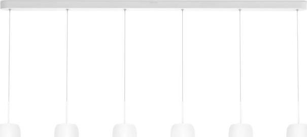 Philips LED meton lampe haengende weisse 6x4,5w selv 37319/56/16