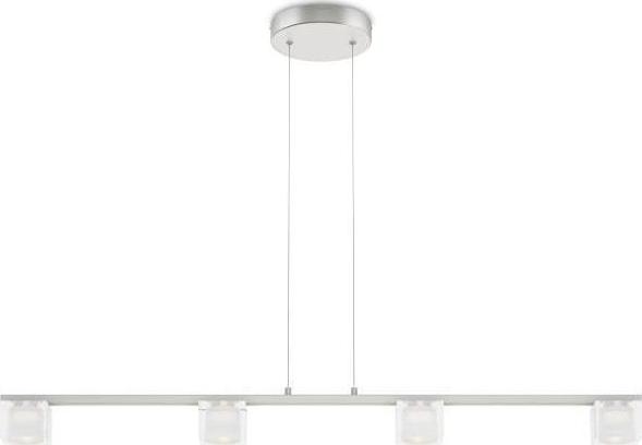 Philips LED tibris Pendelleuchten 4x4,5w selv 36762/17/16