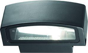 Ideal lux LED andromeda ap1 nero Wandleuchte 5W 61597
