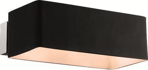 Ideal lux LED box ap2 nero wand lampe 2x4,5W 9513