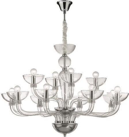 Ideal lux LED casanova sp12 trasparente luster 2x5W 70186