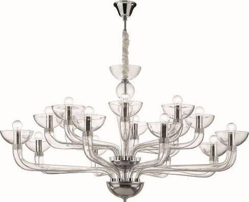 Ideal lux LED casanova sp16 trasparente Lüster 6x5W 44248