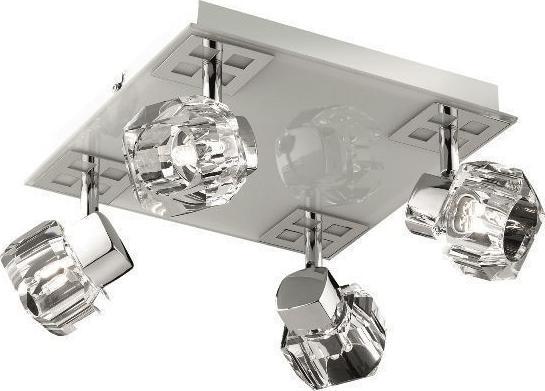 Ideal lux LED nostalgia pl4 závěsné svietidlo 4x4,5W 77963