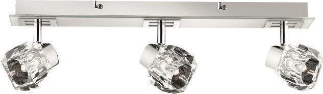Ideal lux LED nostalgia ap3 závěsné svietidlo 3x4,5W 77956
