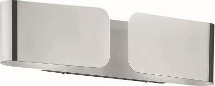 Ideal lux LED clip ap2 mini cromo Wandleuchte 2x4,5W 49229
