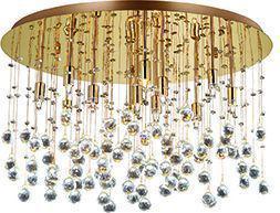 Ideal lux LED moonlight pl12 oro Deckenleuchten 2x4,5W 82783