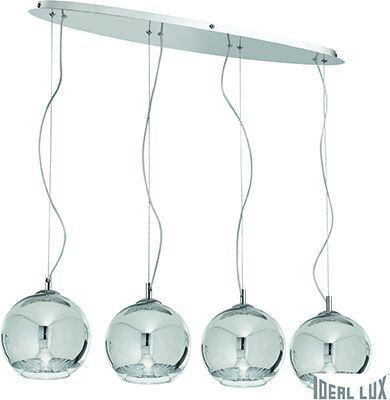 Ideal lux LED discovery sb4 big Pendelleuchten 4x5W 74955