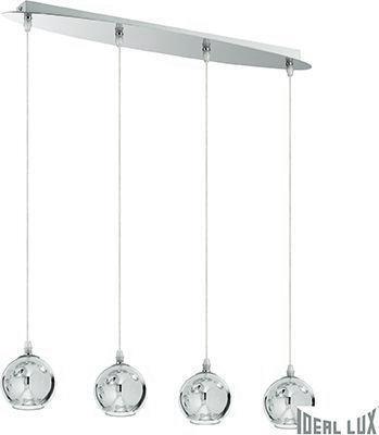 Ideal lux LED discovery sb4 small závěsné svietidlo 4x4,5W 74924