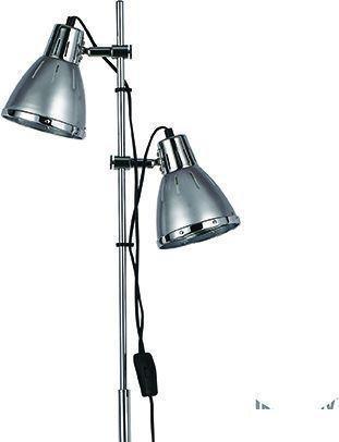 Ideal lux LED elvis pt2 argento lampe stehende 2x5W 42794