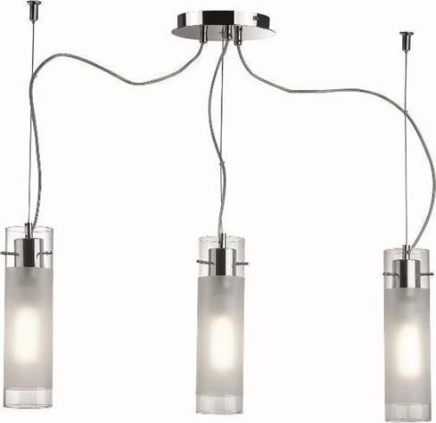 Ideal lux LED flam sp3 závěsné svietidlo 3x5W 33921