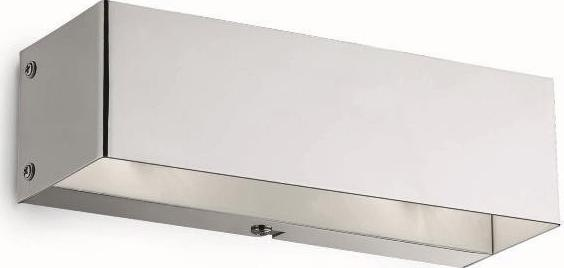 Ideal lux LED flash ap2 bianco nástenné svietidlo 2x4,5W 95288