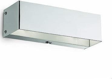 Ideal lux LED flash ap2 cromo nástenné svietidlo 2x4,5W 7397