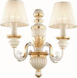Ideal lux LED flora ap2 Wandleuchte 2x5W 52700