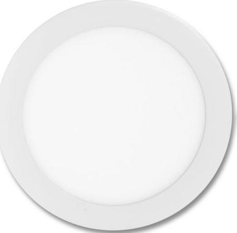 Weißes rundes LED Einbaupanel 300mm 25W Warmweiß
