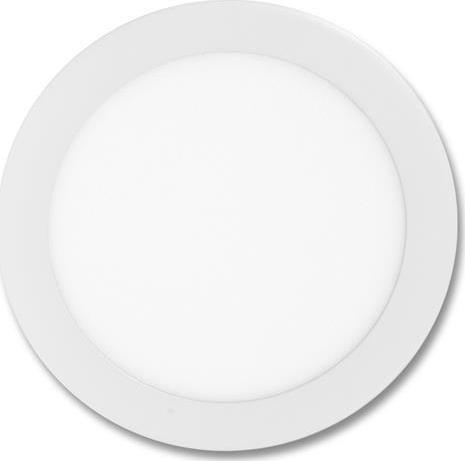 Weißes rundes LED Einbaupanel 175mm 12W Tageslicht