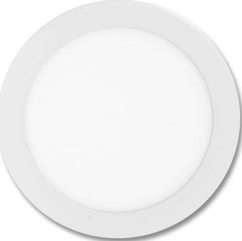 Weisser runder eingebauter LED panel 225mm 18W Tageslicht