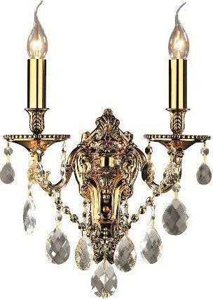 Ideal lux LED gioconda ap2 oro Wandleuchte 2x5W 60491
