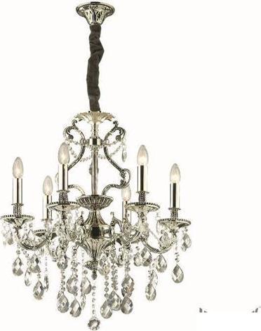 Ideal lux LED gioconda sp6 argento Lüster 6x5W 44927