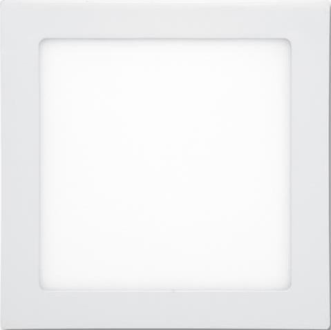 Weißes LED Einbaupanel 225 x 225mm 18W Tageslicht