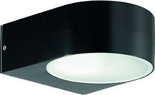 Ideal lux LED iko ap1 nero Wandleuchte 5W 18539