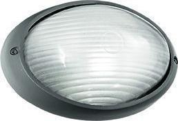 Ideal lux LED mike-50 ap1 small antracite stropné svietidlo 5W 61788