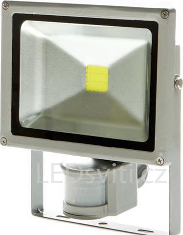 LED Strahler mit Bewegungsensor 30W Warmweiß