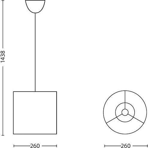 Philips LED disney svietidlo závěsné frozen5W 71751/01/16