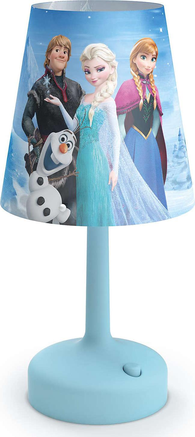 Philips LED disney přenosná lampa stolná frozen 71796/08/16