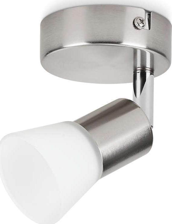 Philips LED decagon svietidlo bodové nikl 4,1w 50250/17/E1