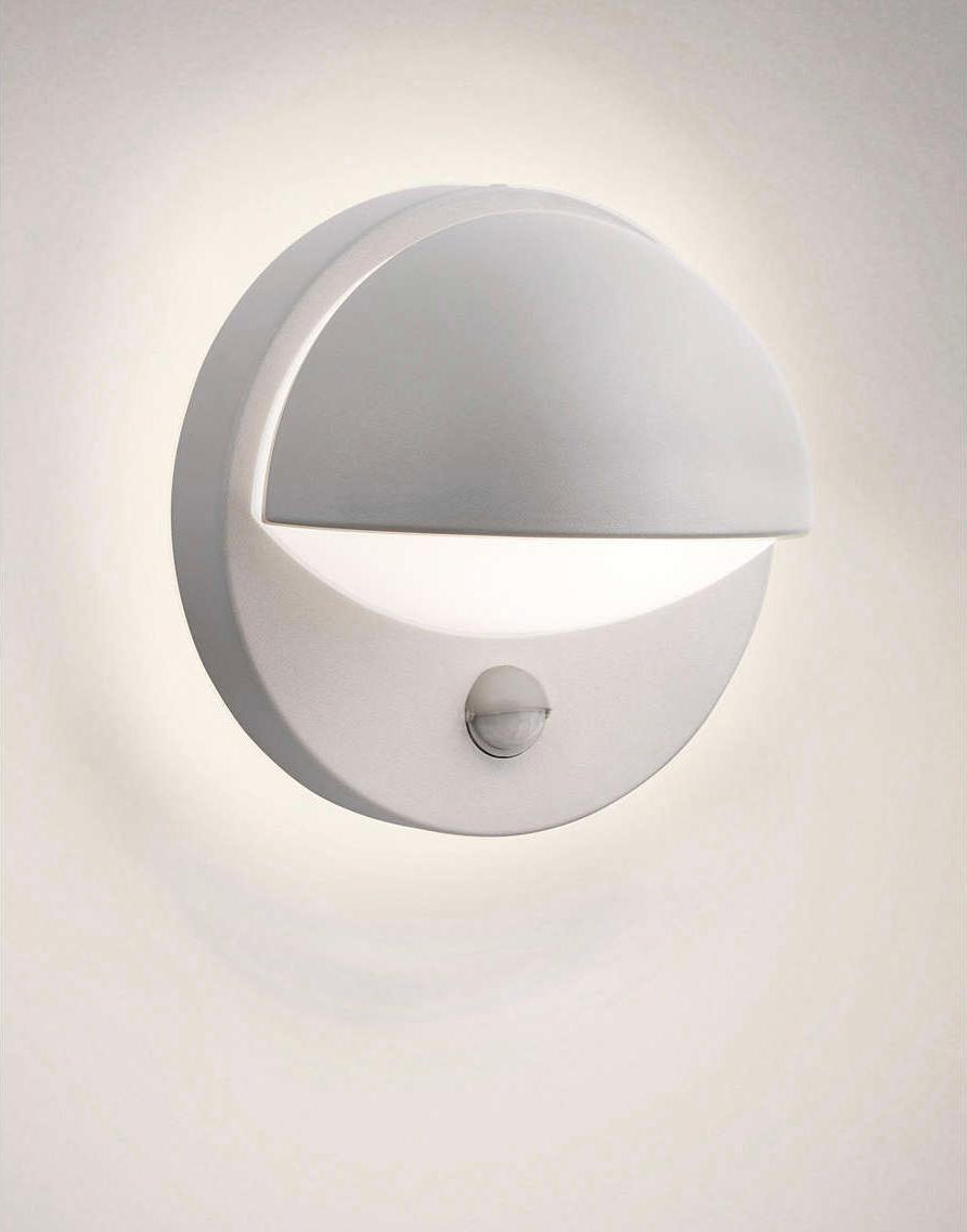 Philips LED june venkovné svietidlo šedá senzor 5W 16246/87/16