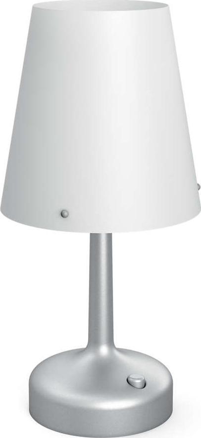 Philips LED lampa stolná baterie šedá 71796/48/P0