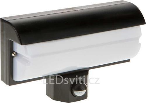 LED Wandleuchte 9,2W mit Bewegungsmelder schwarz