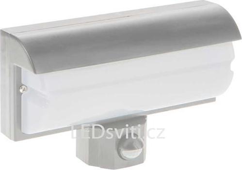 LED Wandleuchte 9,2W mit Bewegungsmelder Silber