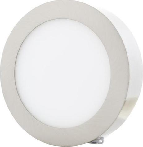 Chrom Kreis Oberflächenmontage LED panel 225mm 18W Tageslicht