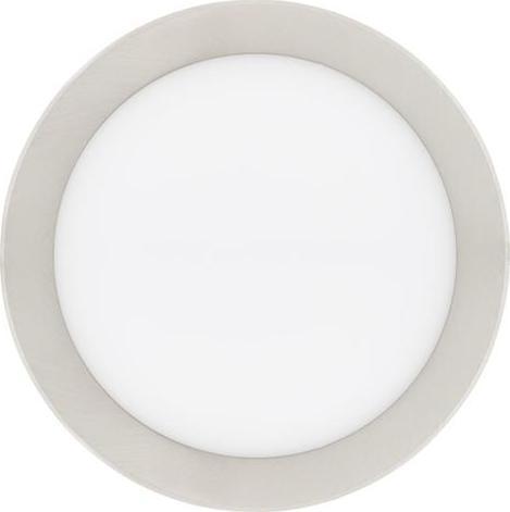 Chrom Kreis Einbau-Panel 225mm 18W Warmweiß