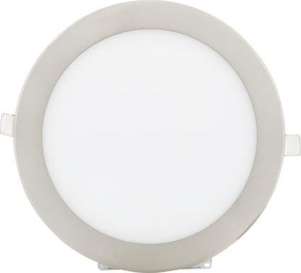 Chromový runder eingebauter LED panel 225mm 18W Tageslicht