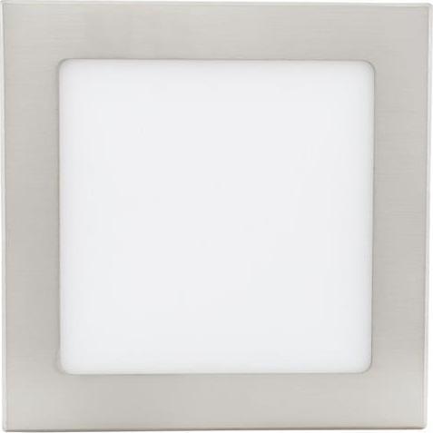 Chrom Einbau-Panel 175 x 175mm 12W Warmweiß