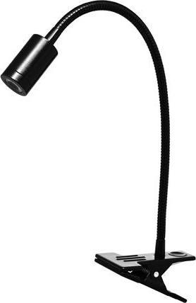 LED stolná lampa 2,5W čierná