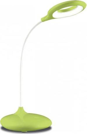 Dimmbarer LED tischlampe 5W gruene mit Batterie und usb