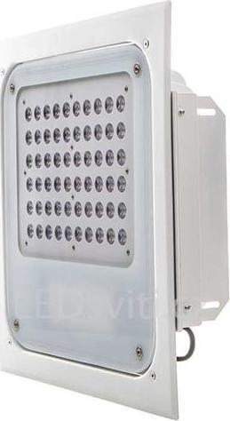 Dimmbar (0-10V) LED Leuchte mit Tankstelle 60W Tageslicht IP67 TYP B