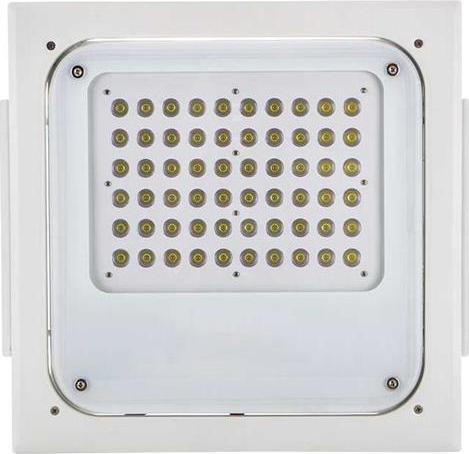 Stmievateľné (0-10V) LED svietidlo pro čerpacie stanice 100W denná biela IP67 TYP B