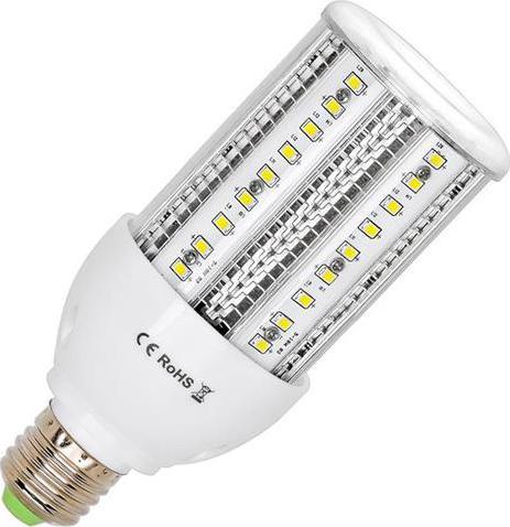 LED žiarovka verejné osvetlenie E27 28W teplá biela