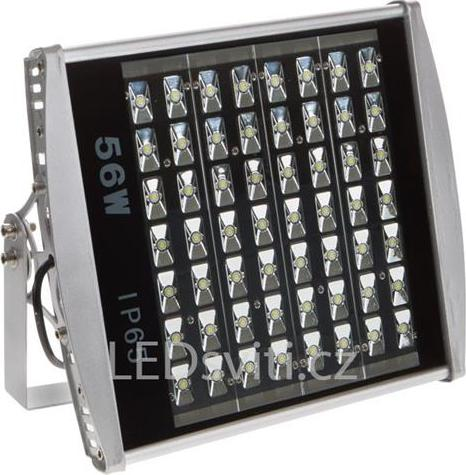 LED priemyselné osvetlenie 56W teplá biela
