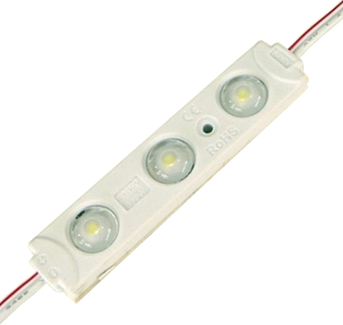 LED modul 0,72W 12V 3x čip teplá biela