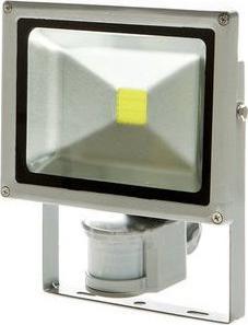 LED Strahler mit Bewegungsensor 50W Warmweiß