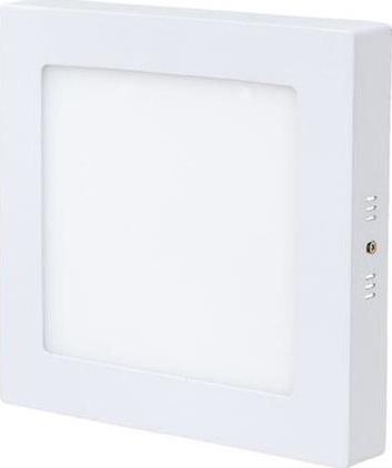 Weißes LED Aufbaupanel 175 x 175mm 12W Warmweiß