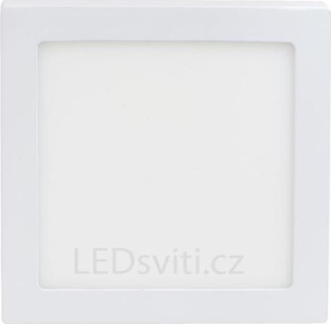 Weißes LED Aufbaupanel 225 x 225mm 18W Warmweiß