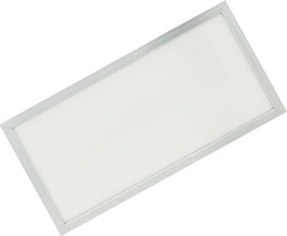 Strieborný závesný LED panel 300 x 600mm 30W teplá biela